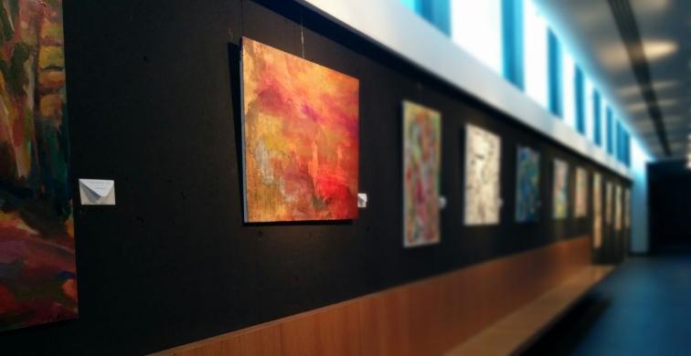 Fotografía de la exposición Inmersión