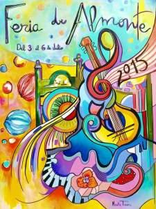Cartel Feria Almonte 2015
